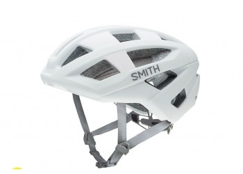 Casco Smith Portal blanco matte