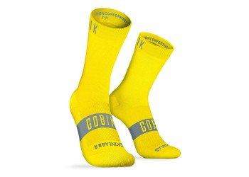 CALCETINES GOBIK UNISEX PURE LIME