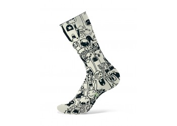 CALCETINES FUNSTEP MONSTRUOS B&W 2021